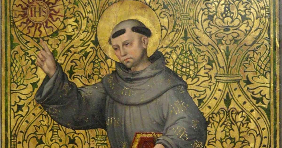 Saint Bernardine of Siena, Pri...